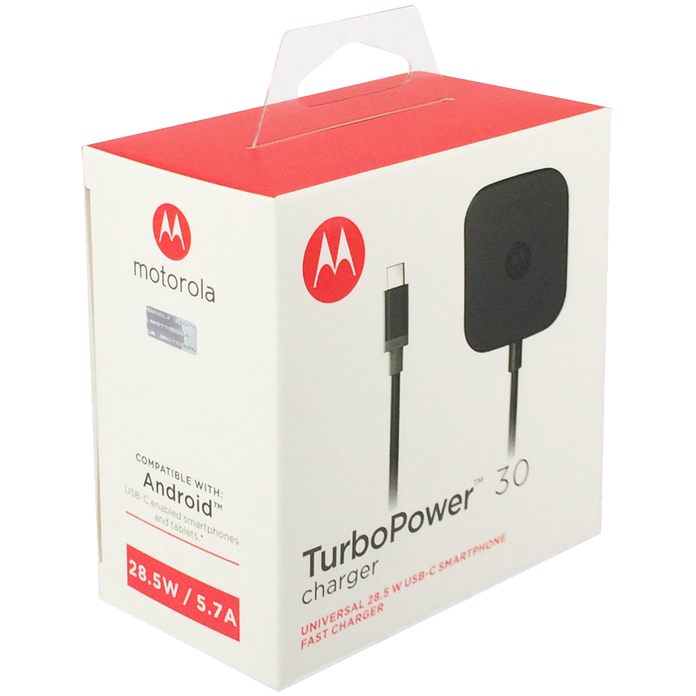 Motorola TurboPower 30 USB-C Wall Charger