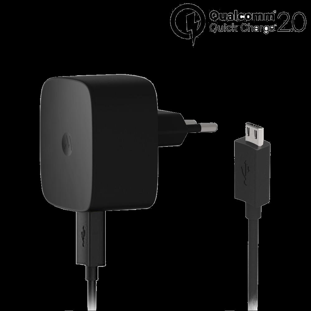 Motorola TurboPower™ 15 Wandoplader + Micro-USB-Oplaadkabel