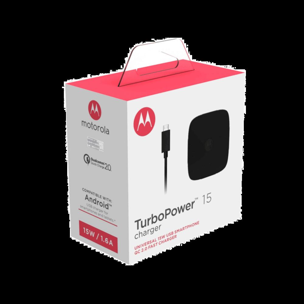 Motorola TurboPower 15 Mobile Wall Charger + Micro-USB Cable
