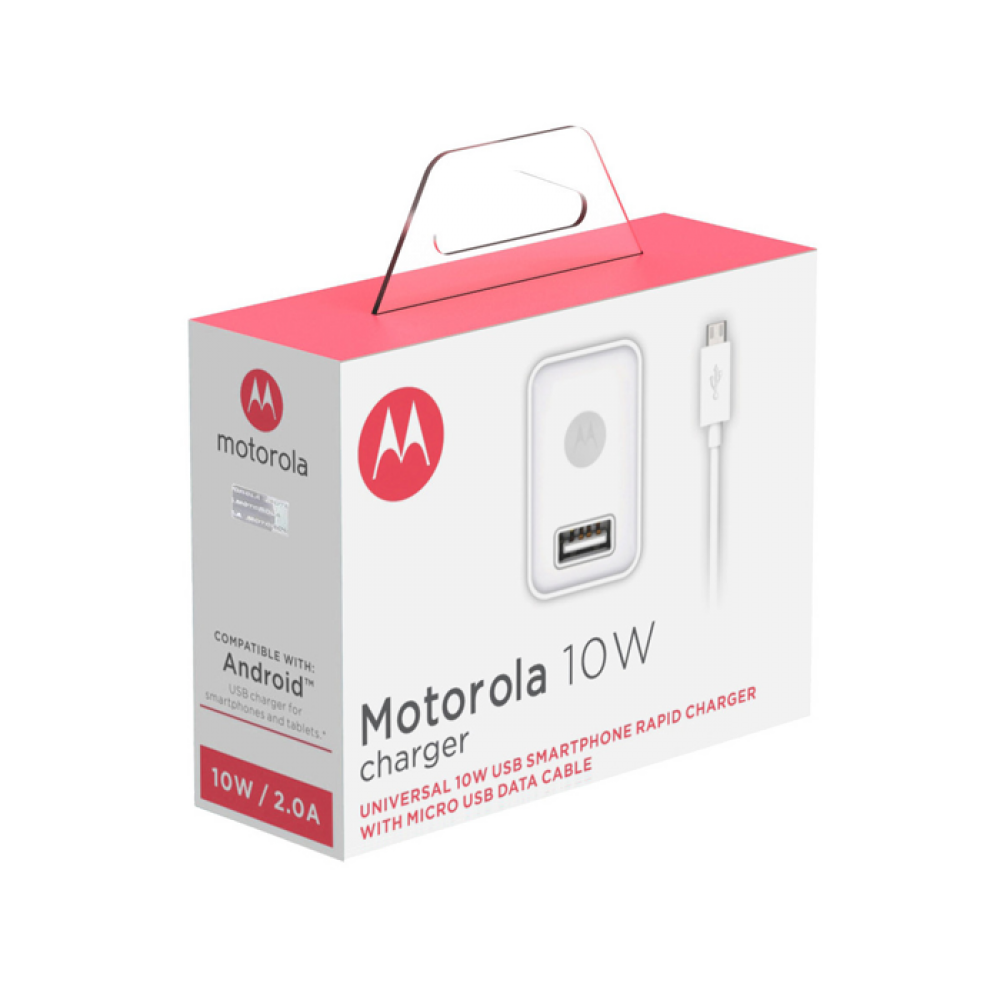 Motorola USB Rapid Mobile Wall Charger + Micro-USB Cable