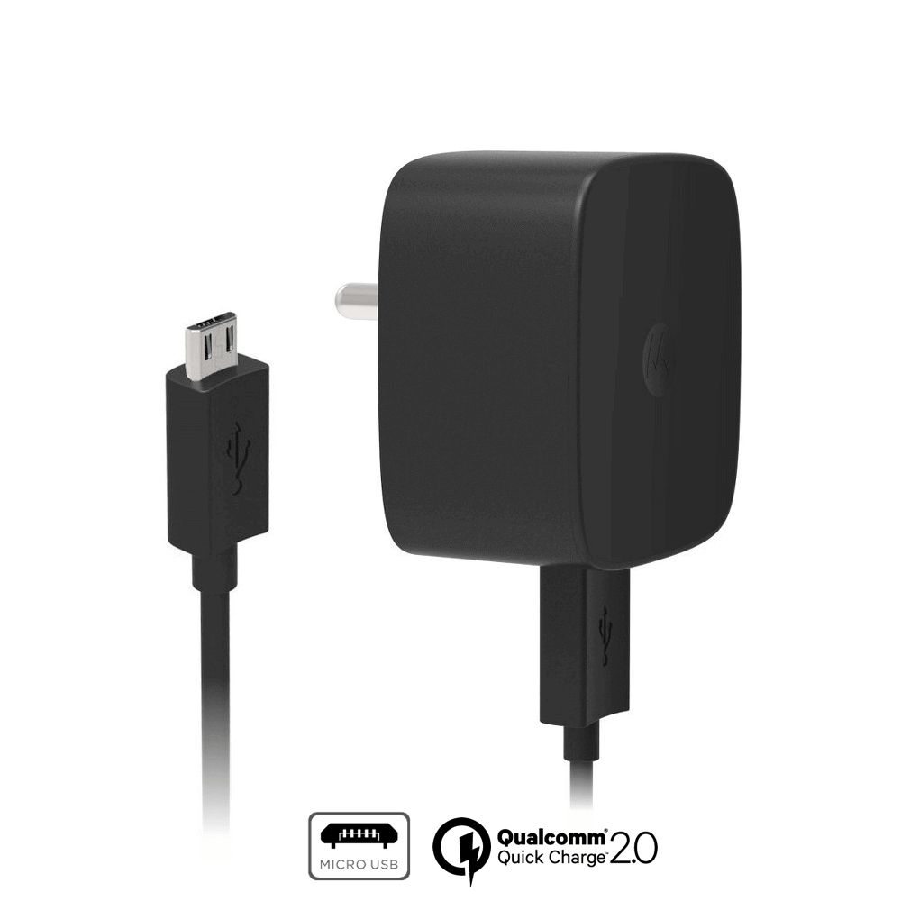 Motorola TurboPower™ 15 Universal Wall Charger + Micro-USB Data Cable
