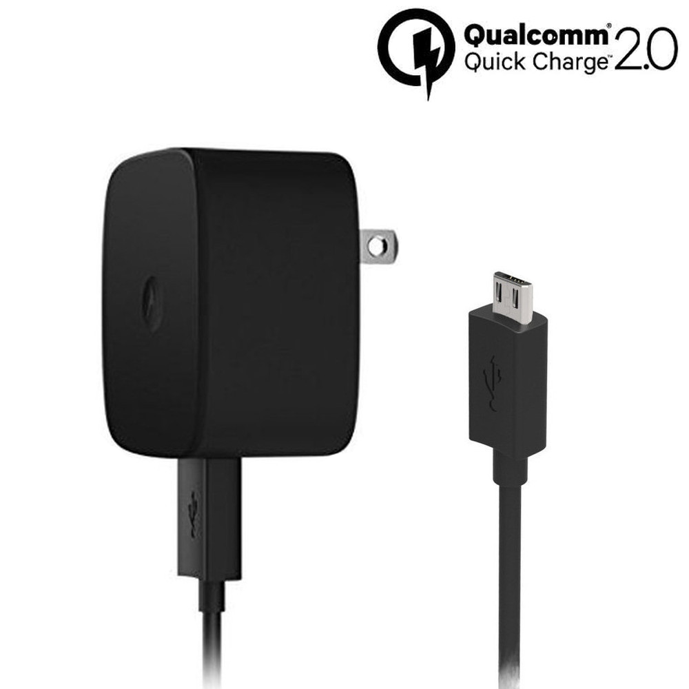 Motorola TurboPower™ 15 Micro-USB Wall Charger