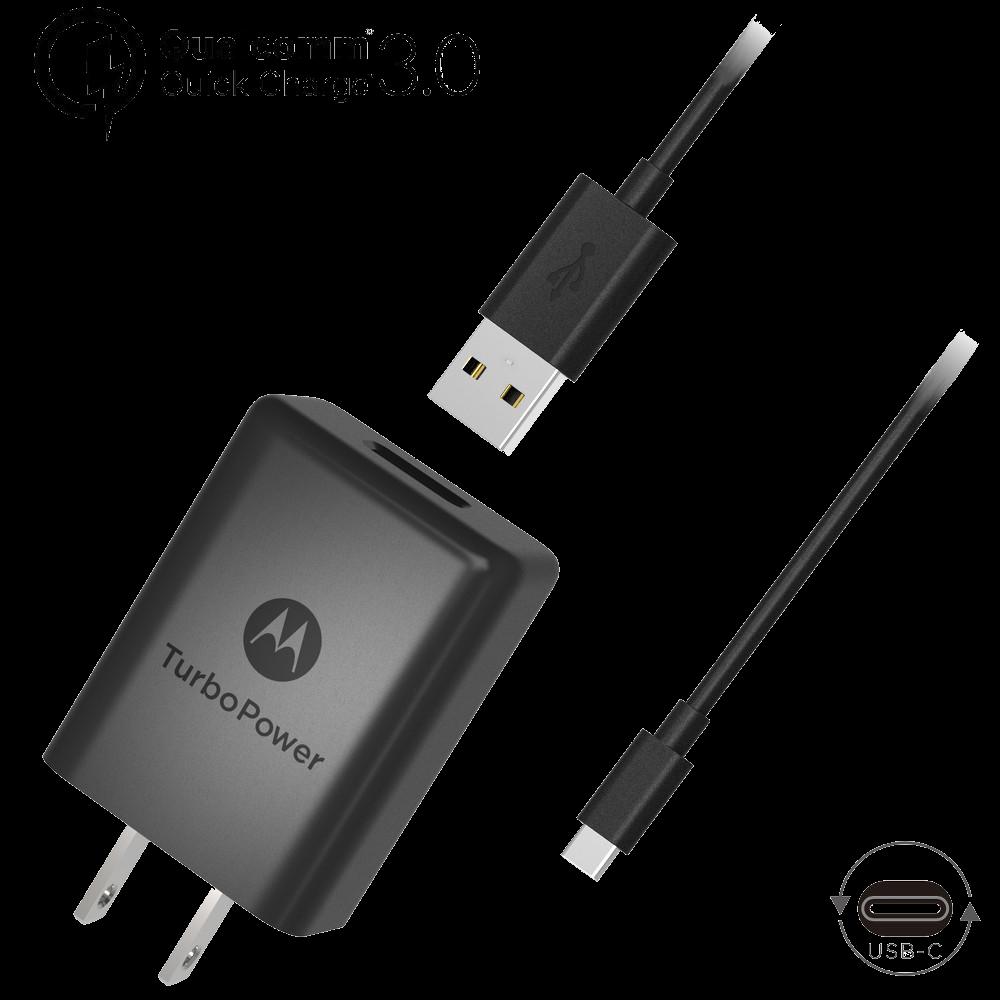 Motorola TurboPower™ 15+ Chargeur Mural + câble de données Micro-USB