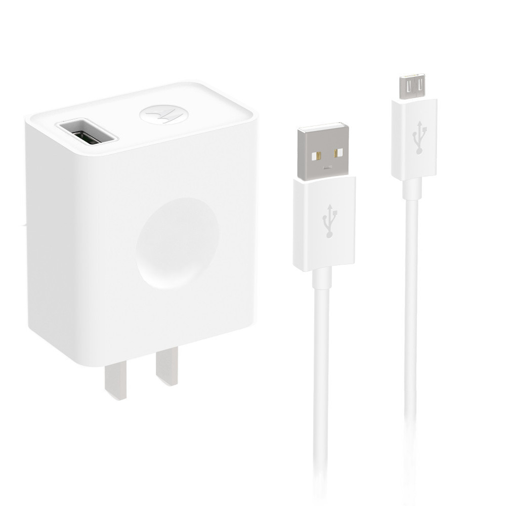 Motorola USB Rapid Charger with Micro-USB Data Cable