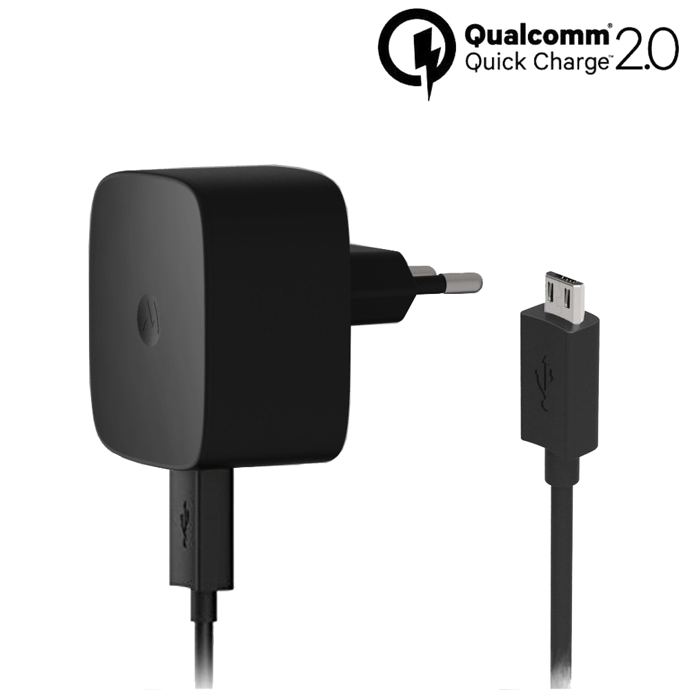 Motorola TurboPower™ 15 Wall Charger + Micro-USB Data Cable