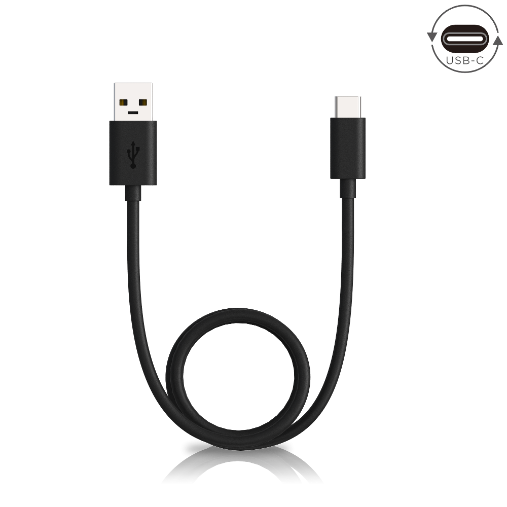 Motorola Data/Charging Cable USB-A to USB-C — Black