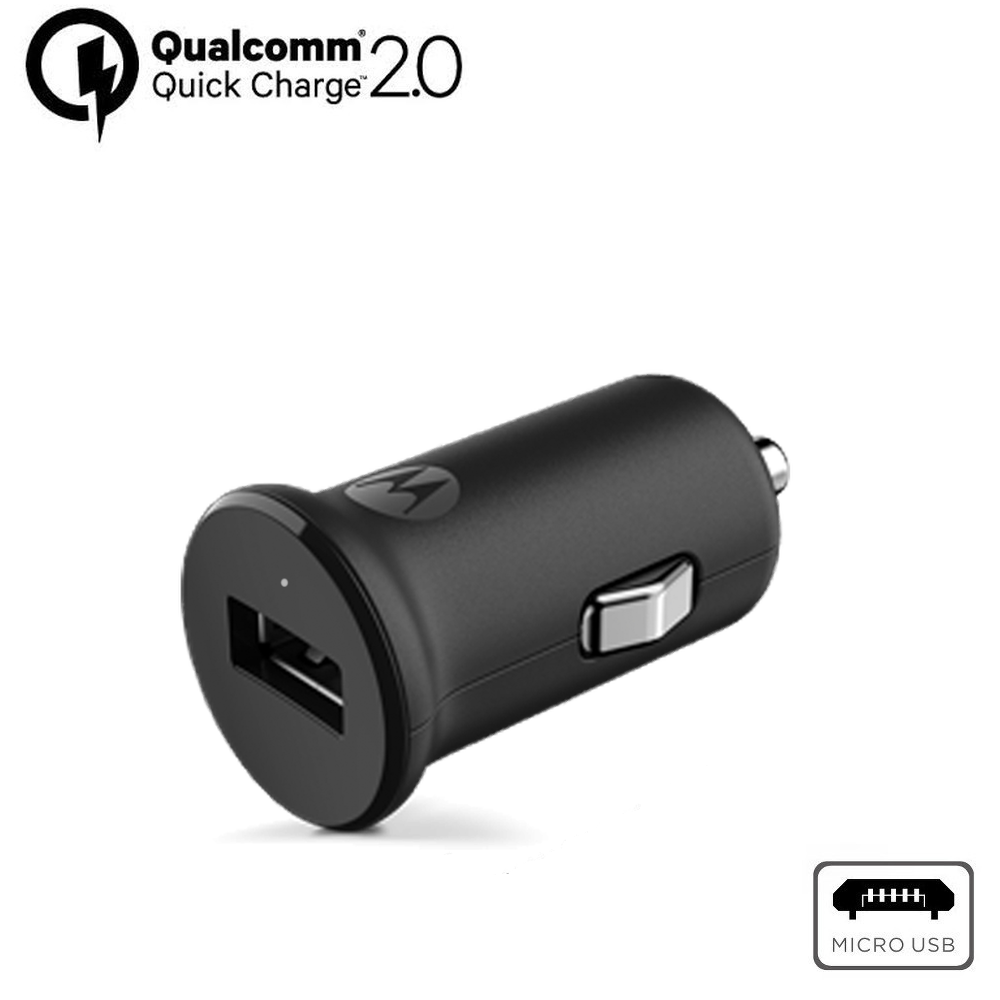 Motorola TurboPower™ 15 Car Charger + Micro-USB Cable