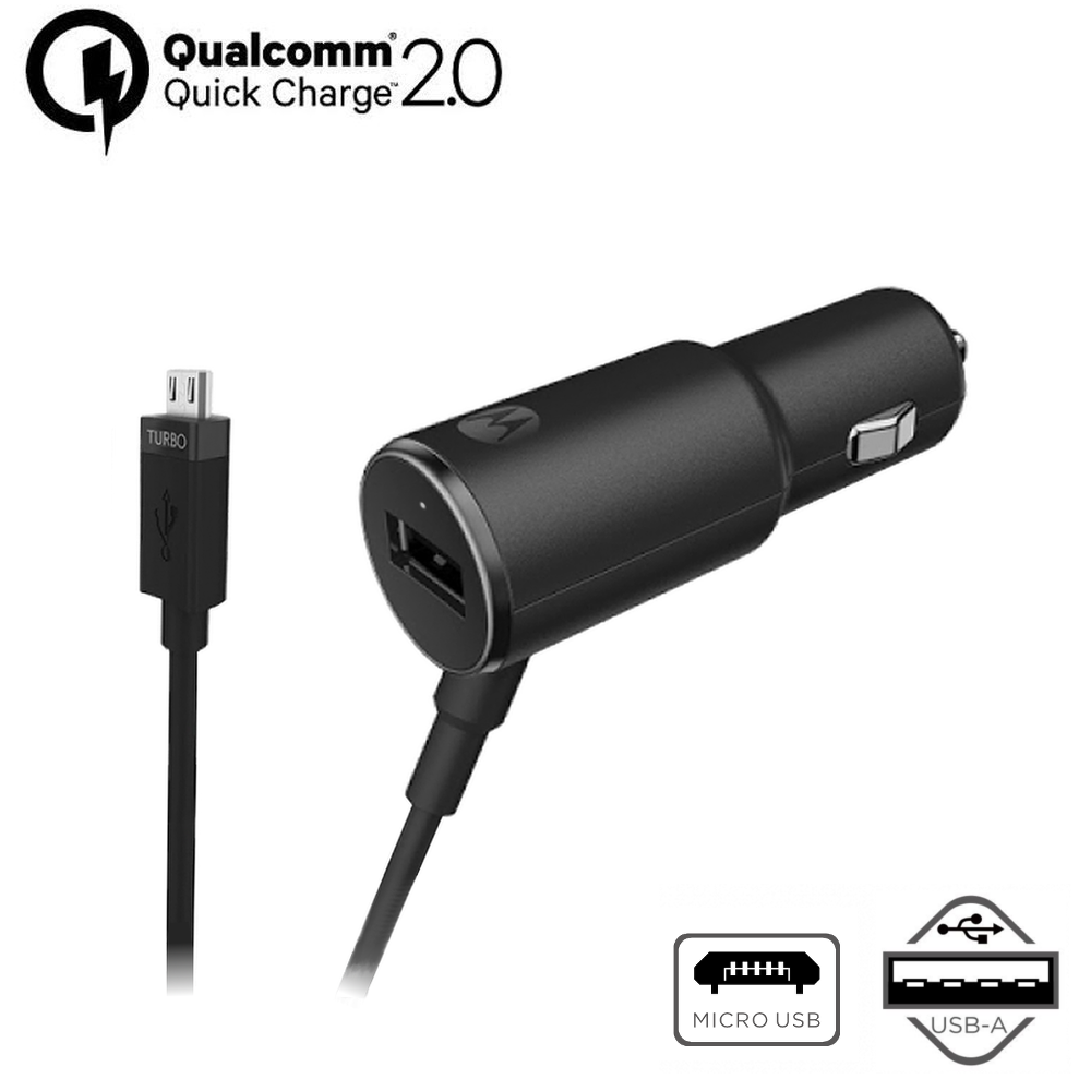 Motorola TurboPower™ 25 Micro-USB Car Charger