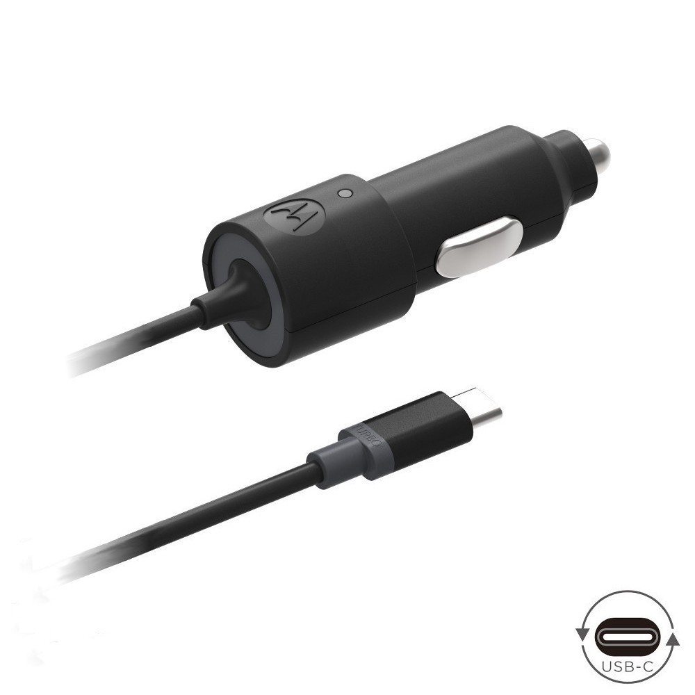 Motorola TurboPower™ 15 USB-C Car Charger